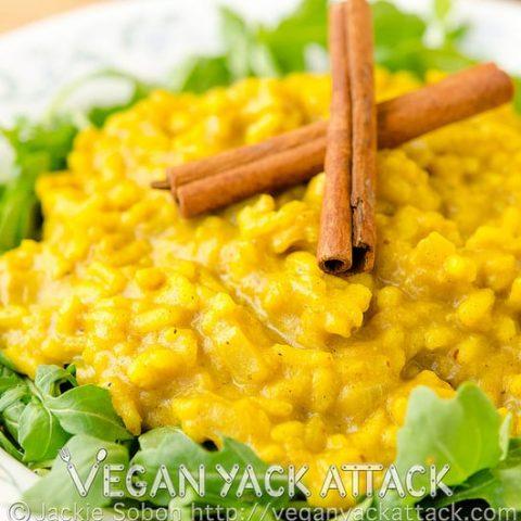 Pumpkin Curry Risotto