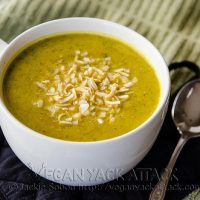 Creamy Roasted Veggie Soup
