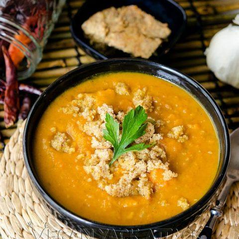 Smoky Sweet Potato Soup