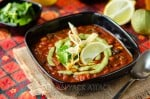 Vegan Loaded Enchilada Soup