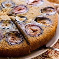 Vanilla Fig Cake