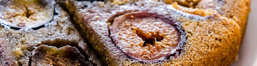 Vanilla Bean Fig Cake