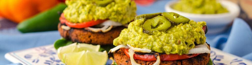 Soyrizo Guacamole Burger