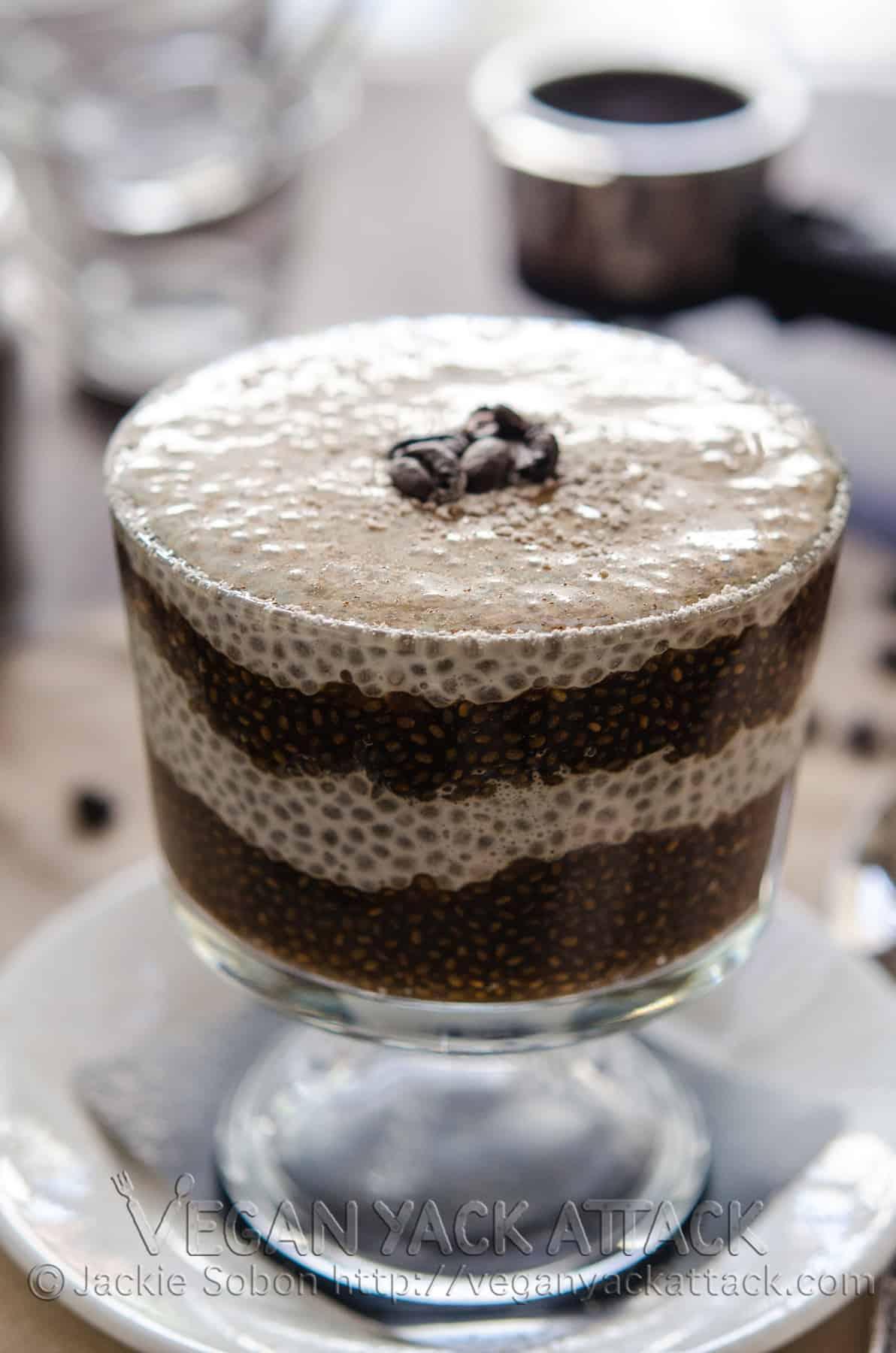 Vanilla Latte Chia Parfait