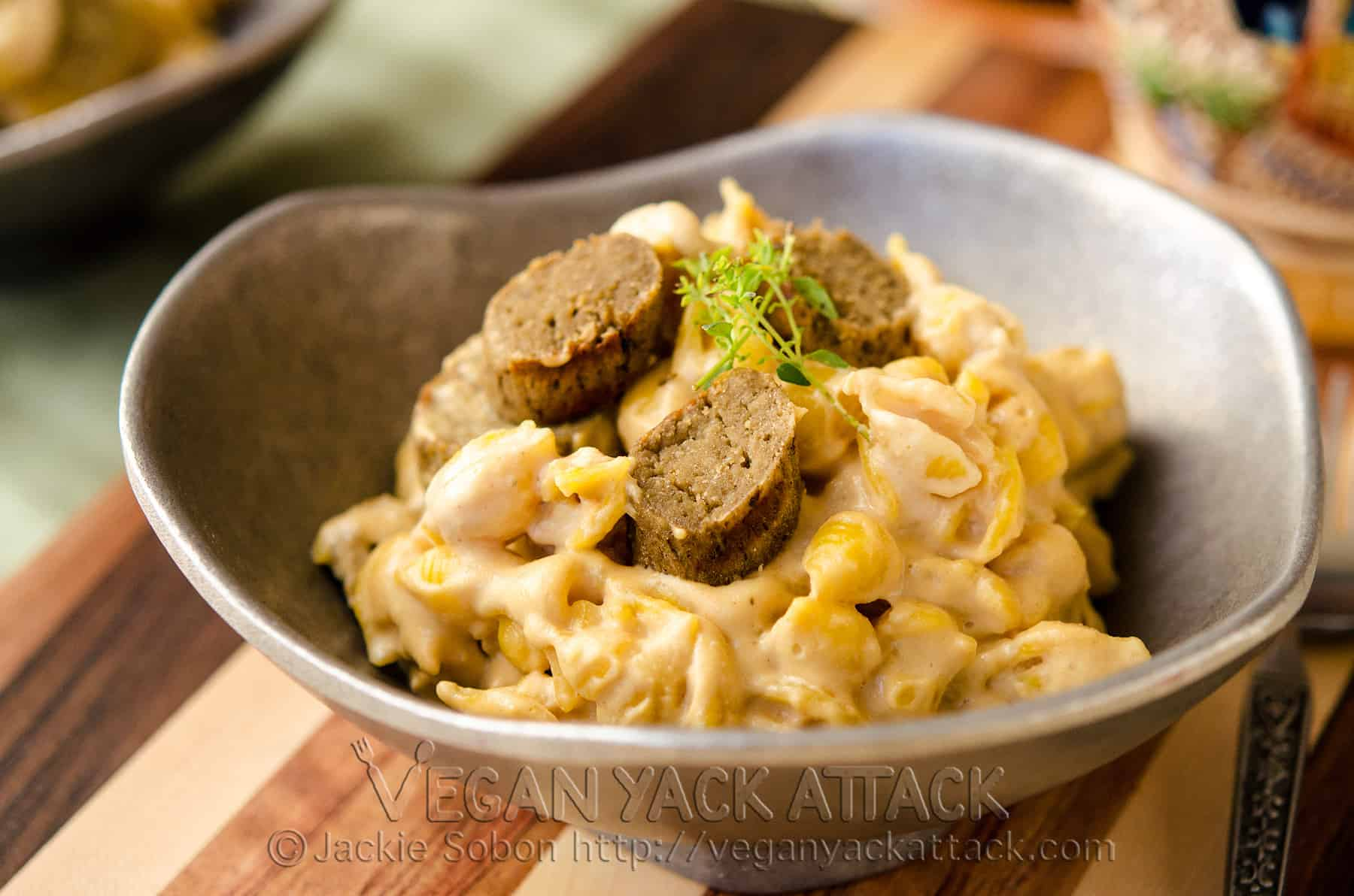 Beer Bratwurst Macaroni Cheese