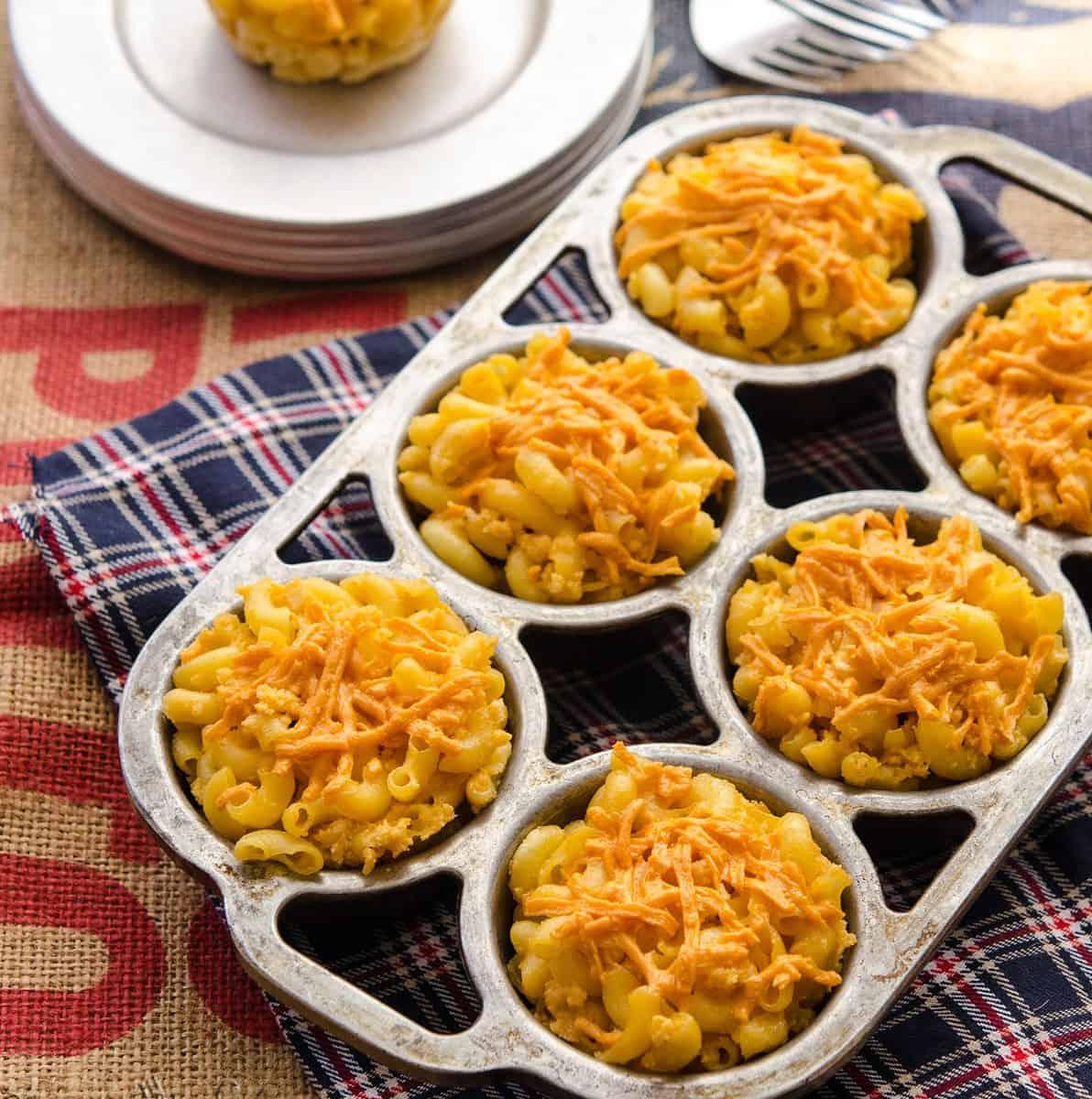 Mac 'n' Cheese Veggie Dog Bites!