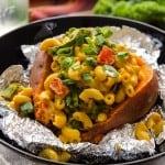 Smoky Mac-Stuffed Sweet Potatoes