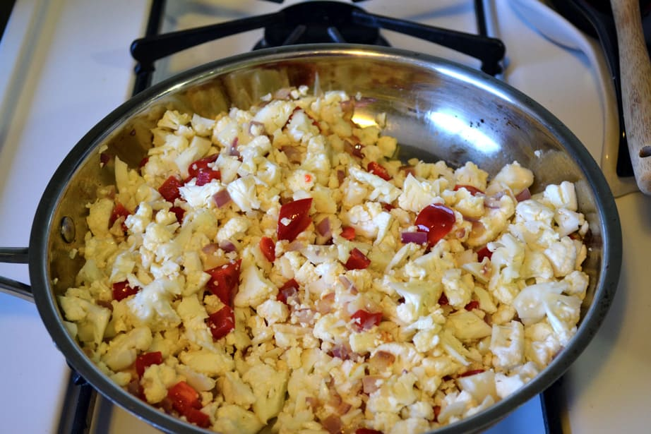 Cooking Cauliflower