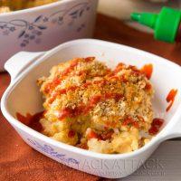 Sriracha Cauliflower Mac n Cheeze