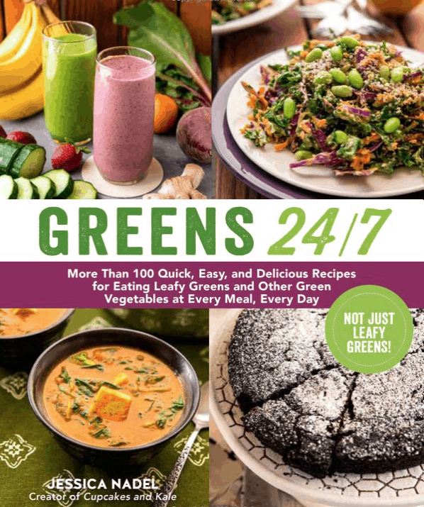 Giveaway of Greens 24/7 by Jessica Nadel