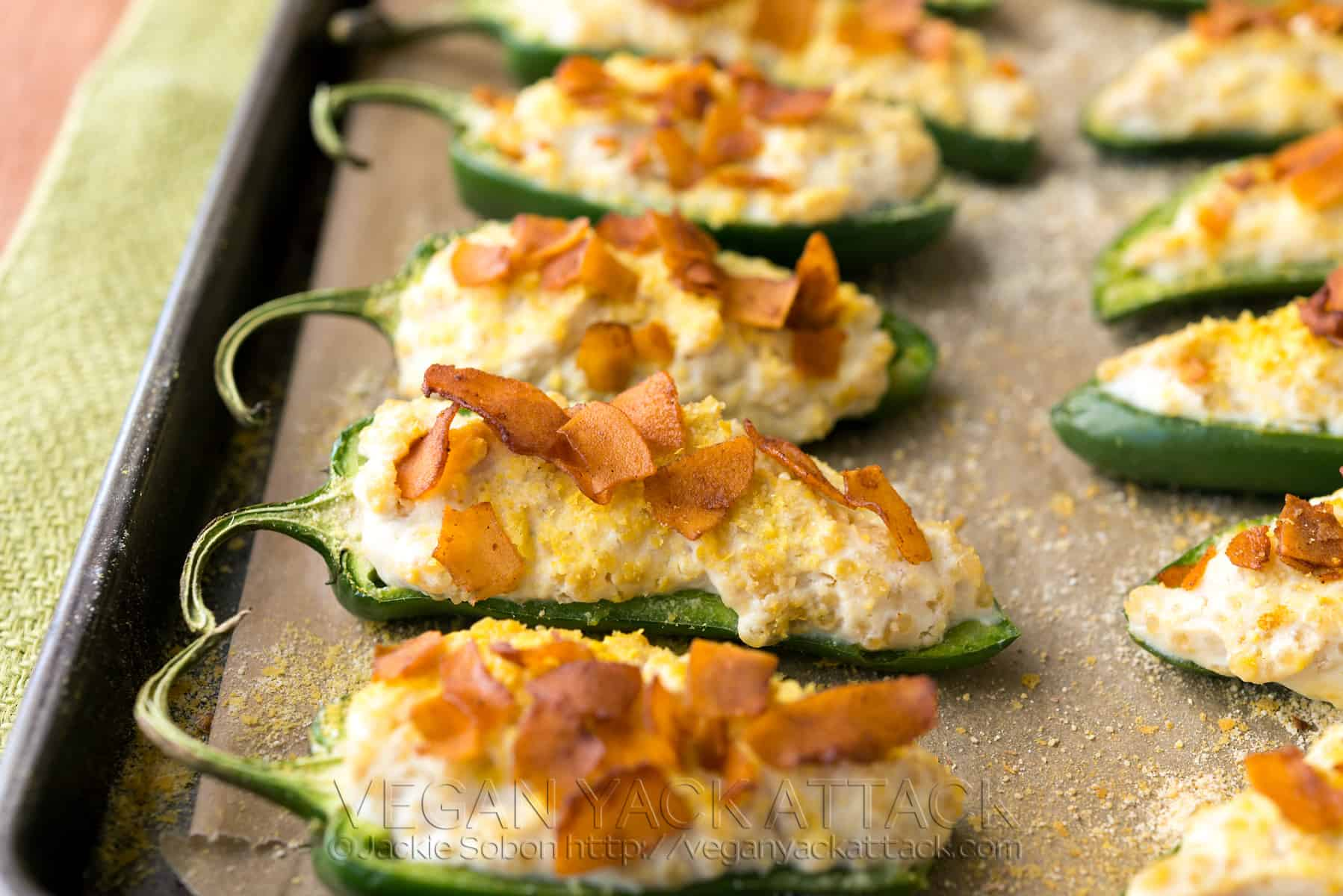 Coconut Bacon Jalapeno Poppers