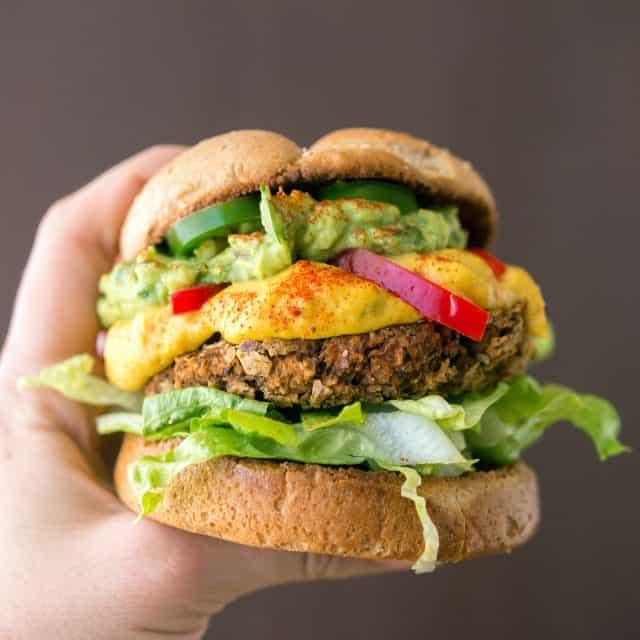 Supreme Nacho Burger