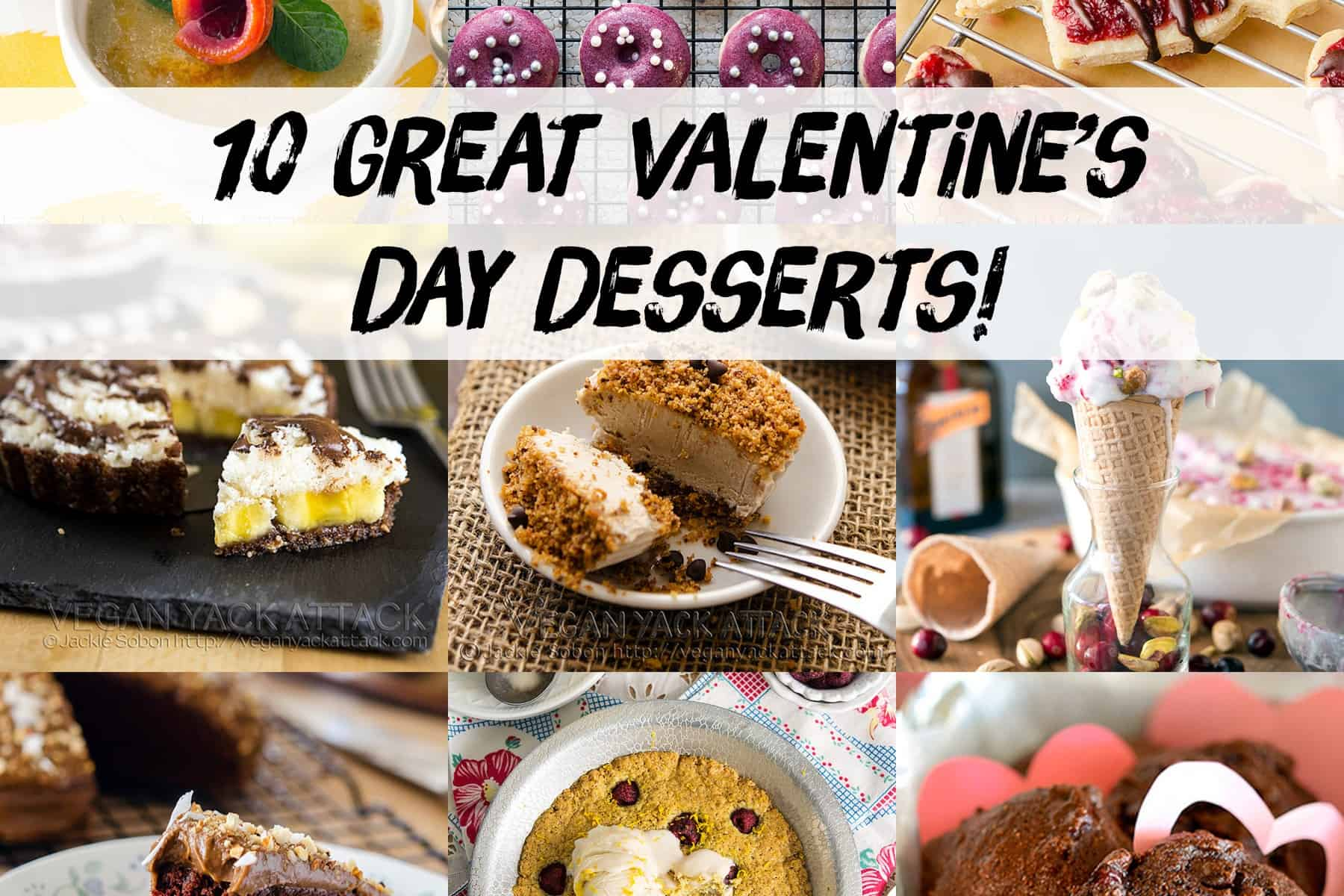 10 Great Valentine's Day Desserts