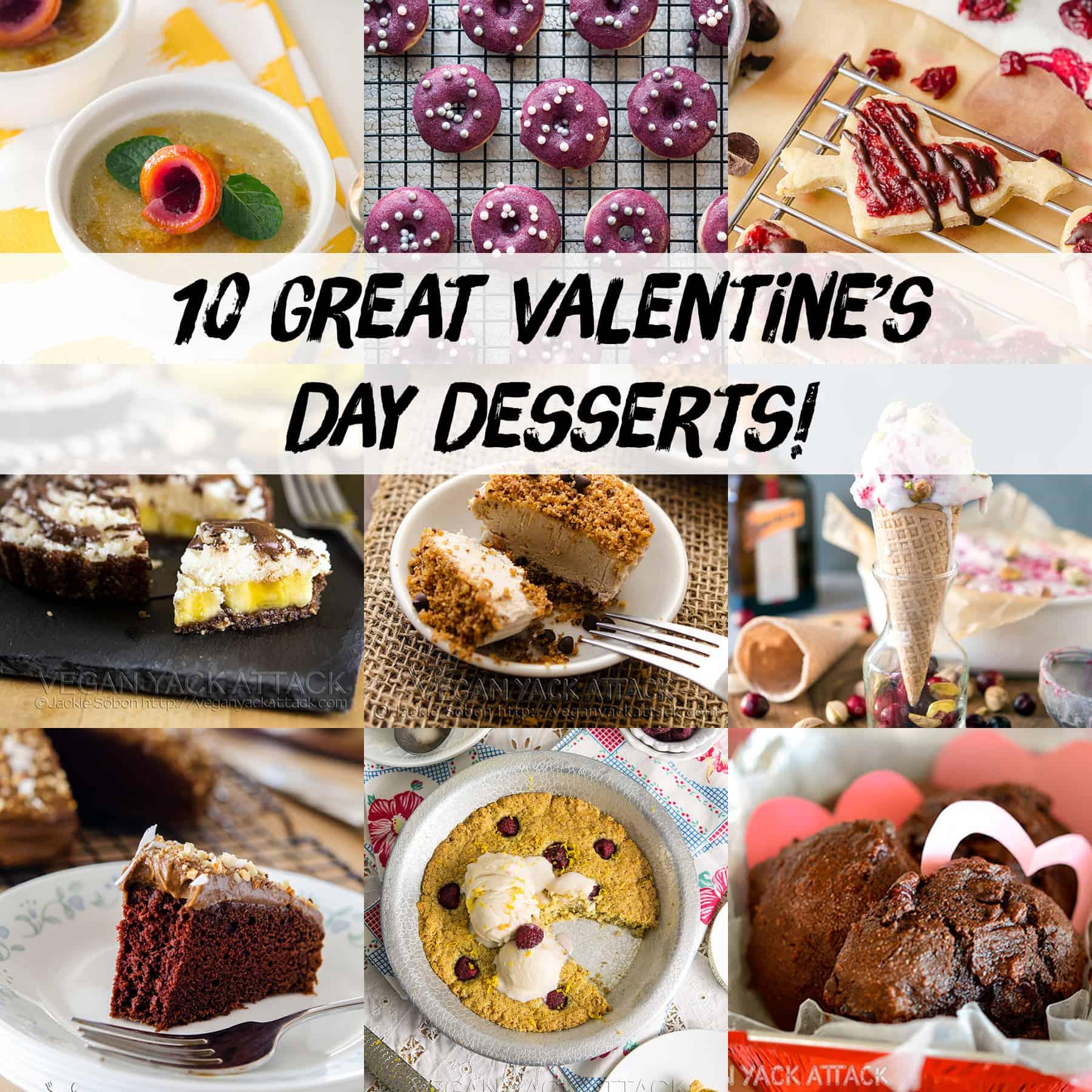 10 Great Valentine's Day Desserts