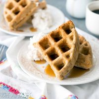 The Love & Lemons Cookbook: Vegan Carrot Waffles