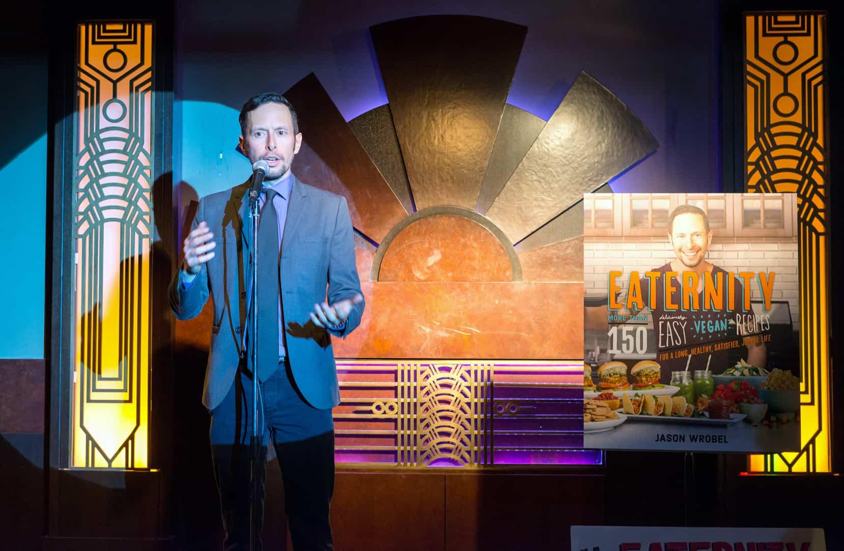 Jason Wrobel - Eaternity Cookbook Launch Party