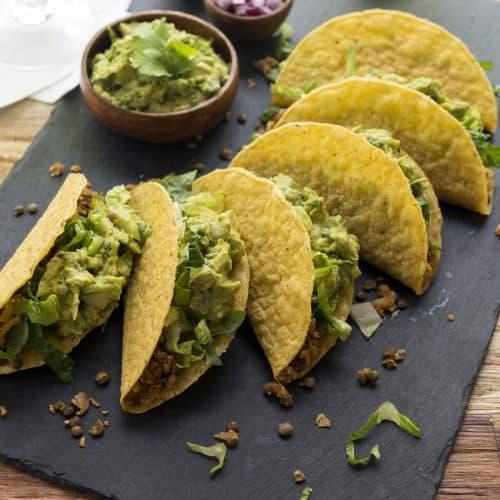 Cauliflower Lentil Taco from Jason Wrobel's Eaternity Cookbook