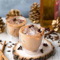 Iced Cinnamon Whiskey Chai