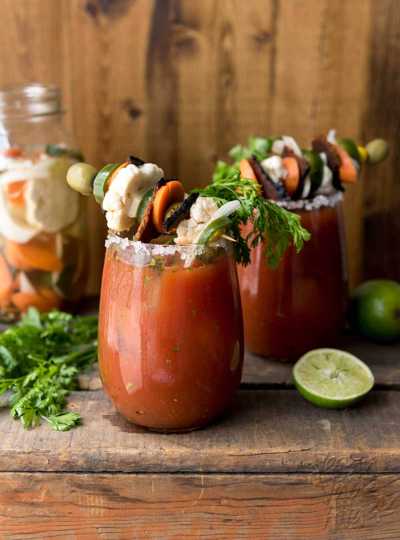 Loaded Chipotle Bloody Mary Vegan Yack Attack