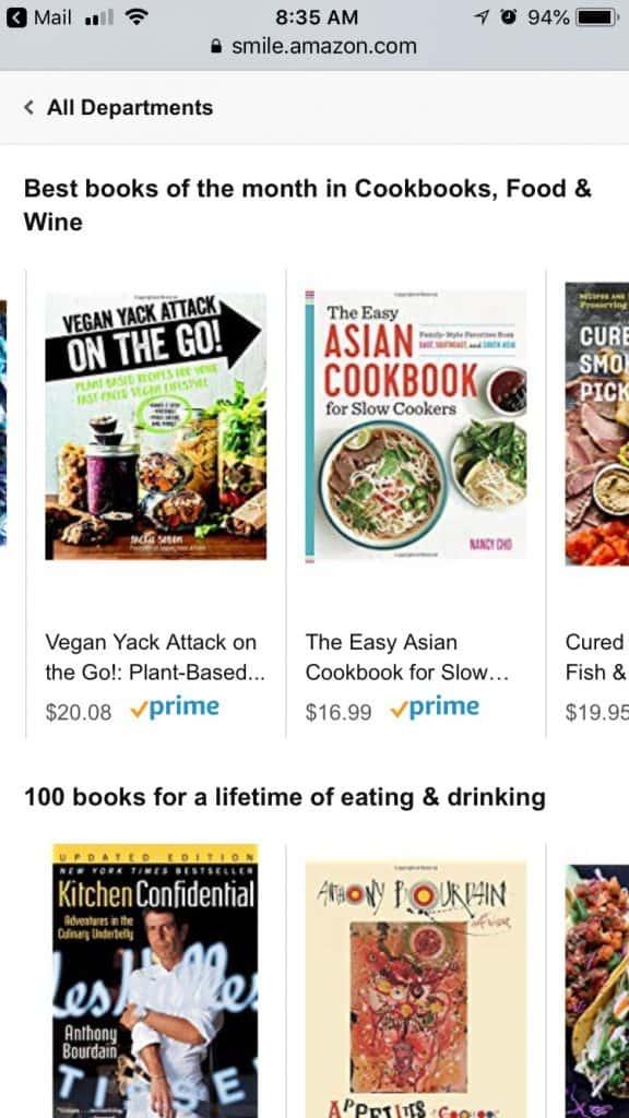 Vegan Yack Attack On the Go! Top Cookbooks July 2018 on Amazon