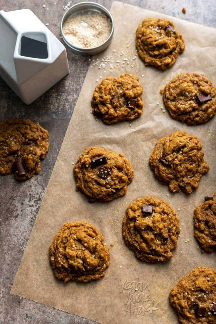 Soft-Batch Chocolate Chip Cookies {The Simply Vegan Cookbook}