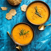 Instant Pot Tomato Bisque from Scratch