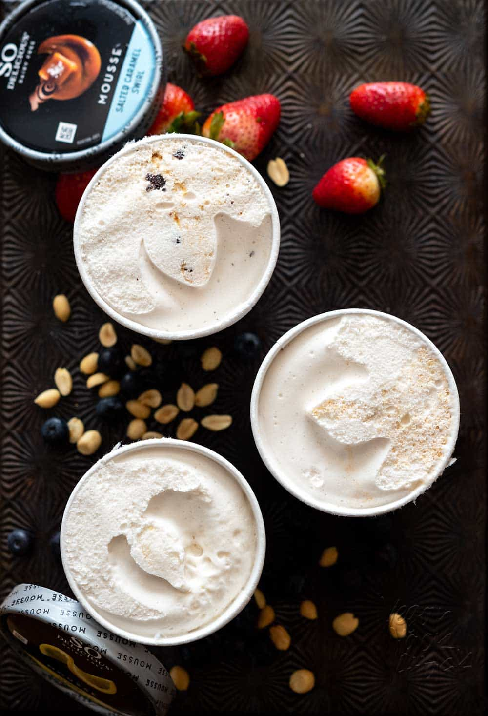 You may have seen the news already, but if you haven't there's a new vegan dessert in town! This So Delicious Frozen Mousse is NO JOKE, and I'm hear to tell you what I think about it. #vegan #sodeliciousdairyfree #shamelesslydecadent
