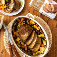 Celebration Roast Centerpiece with Mushroom Gravy