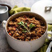 Gluten-Free Millet Stuffing