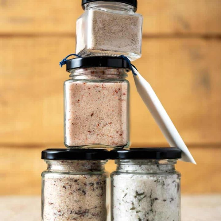 Assorted DIY Finishing Salts and Sugars