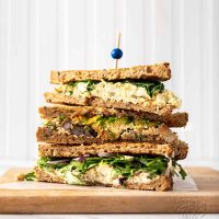 Tofu Egg Salad Sandwich - Three Ways!