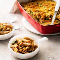 Vegan Potpie Noodle Casserole [Meatless Monday Family Cookbook]