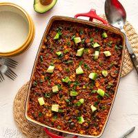 Chipotle Brown Rice Bake
