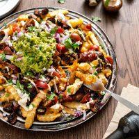 Vegan Mushroom (Champiñón) Asado Fries