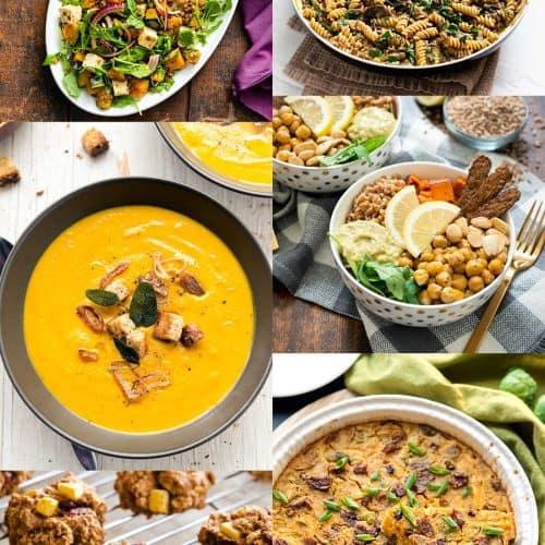 Fall Vegan Meal Prep for Two