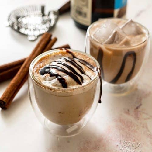 Mocha Mezcal Dessert Cocktail