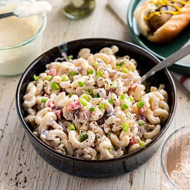 Oil-free Vegan Macaroni Salad